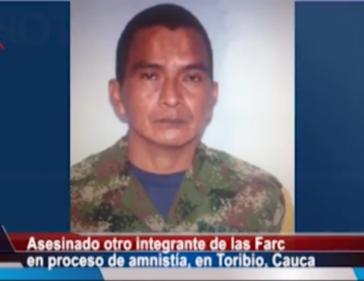 José Húber Yatacue (Screenshot)