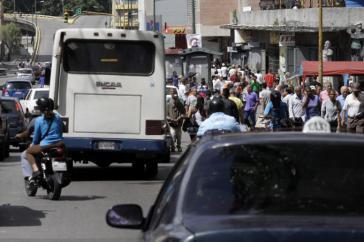 Im Zentrum und in den Arbeitervierteln von Caracas fand kein Generalstreik statt
