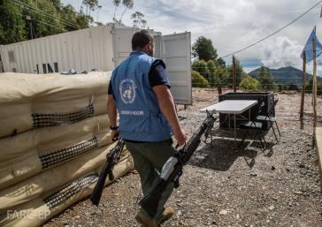 Die Abgabe der Waffen der Farc-Rebellen in Kolumbien erfolgt unter UN-Aufsicht