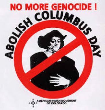 Aufruf zur Abschaffung des Kolumbustags in den USA