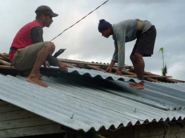 Die Aufbauarbeiten auf Kuba gehen voran