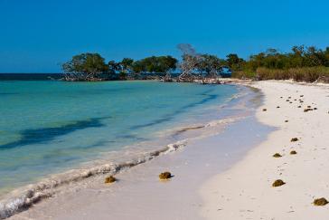 Strand in Kuba – der Klimawandel ist hier deutlich spürbar