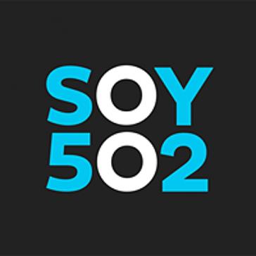 Logo des unabhängigen Nachrichtenportals Soy502 in Guatemala