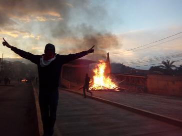 Die Proteste in Honduras reißen nicht ab und drohen sogar an Schärfe zuzunehmen