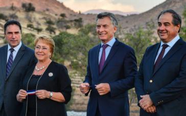 Planen eine Stärkung des Freihandels: Michelle Bachelet und Mauricio Macri