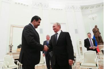 Die Umstrukturierung der Schulden haben die Präsidenten von Venezuela, Nicolás Maduro (links) und Russland, Wladimir Putin, auch bei ihrem Treffen am 4. Oktober in Moskau besprochen