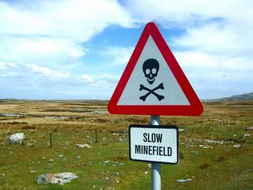 Minenfeld auf den Malwinen – Der Krieg zwischen Argentinien und Großbritannien hat Spuren hinterlassen