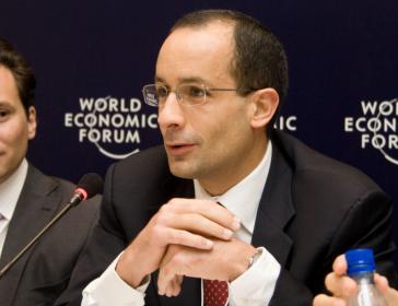 Konzernchef Marcelo Odebrecht (hier beim Weltwirtschaftsforum in Davos 2009) wurde im März 2016 zu 19 Jahren und vier Monaten Haft verurteilt