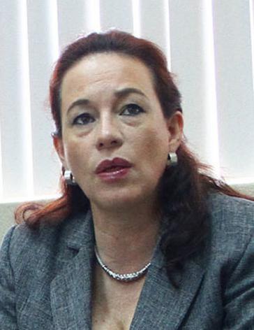 Die neue Außenministerin von Ecuador, María Fernando Espinosa