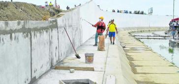 Vorläufig gestoppt: Mauerbau an der Grenze zwischen Ecuador und Peru