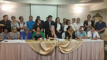 Pressekonferenz von mehr als 20 Menschenrechtsorganisationen am Montag