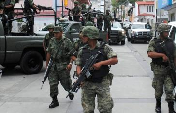 Mexikos Militär wird bereits seit längerem im Rahmen der Drogenbekämpfung eingesetzt