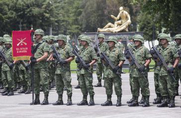 Soldaten in Mexiko: Die Armee wird zahlreicher Verletzungen der Menschenrechte bezichtigt