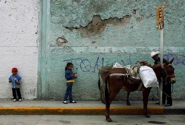 Kinder in Mexiko müssen oft arbeiten, statt zur Schule zu gehen