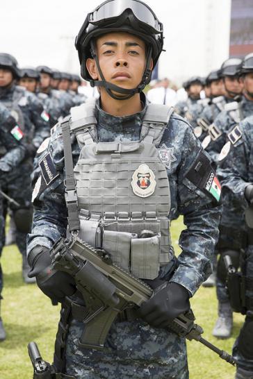 Polizist in Mexiko