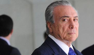 Gegen Temer wird in Brasilien wegen Korruption ermittelt
