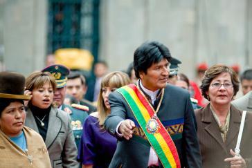 Nun muss das Verfassungsgericht entscheiden: Darf die MAS Morales zur Präsidentschaftswahl 2019 aufstellen?