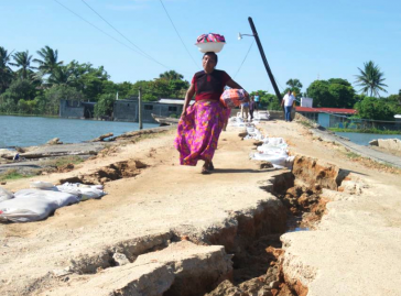Am stärksten betroffen von den Erdbeben in Mexiko im September und Oktober ist der Bundesstaat Oaxaca im Südosten des Landes
