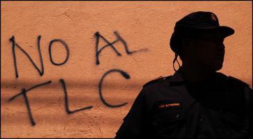 """""""Nein zum Freihandelsabkommen"""" – Protest in Mexiko"""
