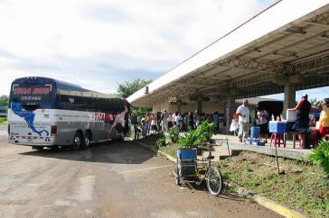 Grenze zwischen Nicaragua und Costa Rica