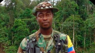 """Luis Alberto Ortiz Cabezas alias """"Pepe"""" wurde in der Nähe von Tumaco im Süden von Kolumbien ermordet"""