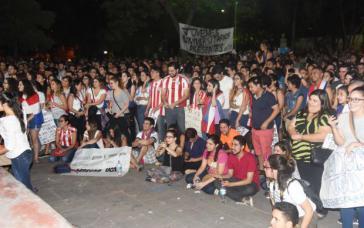 Protestierende in Paraguay gedenken des getöteten Parteimitglieds