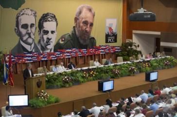 Plenum des 7. Kongresses der Kommunistischen Partei von Kuba im April 2016