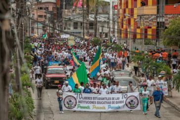 Protest Chocó 2017