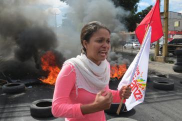 Die Proteste gegen die Regierung von Präsident Juan Orlando Hernández in Honduras nehmen weiter zu