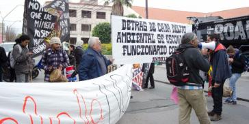 Protest gegen Lithiumabbau, hier in Argentinien