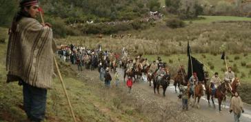 Die indigenen Mapuche in Chile kämpfen seit Jahrzehnten um ihr angestammtes Land