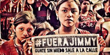 Bei Demonstrationen in Guatemala wird der Rücktritt von Präsident Jimmy Morales gefordert