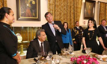 Laut Correa hat sich Moreno von dem politischen Vorhaben der Bürgerrevolution entfernt