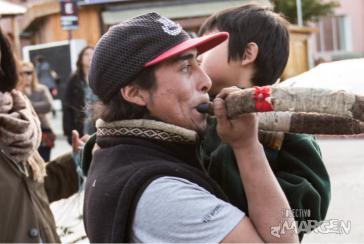 Auf einer Demonstration vergangene Woche in Bariloche, Argentinien: Letztes Foto des lebenden Rafael Nahuel