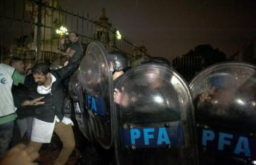 Die Regierung von Präsident Macri in Argentinien setzt gegen die zunehmenden Proteste auf Repression und Kriminalisierung