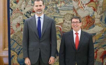 Kubas Außenminister Bruno Rodrígez