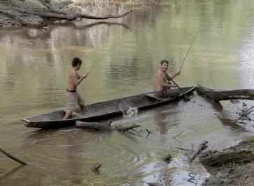 """Filmstill """"Rio Verde. El tiempo de los Yakurunas"""""""