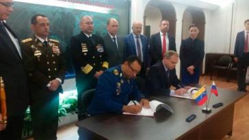 Venezuela und Russland haben neue Kooperationsabkommen im militärischen Bereich geschlossen