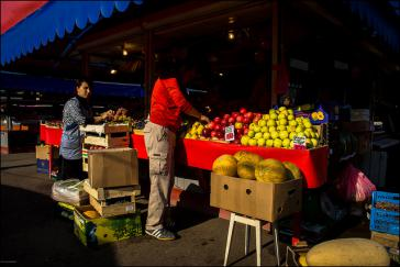 Markt in der Nähe von Moskau. Mehr Produkte kommen aus Lateinamerika