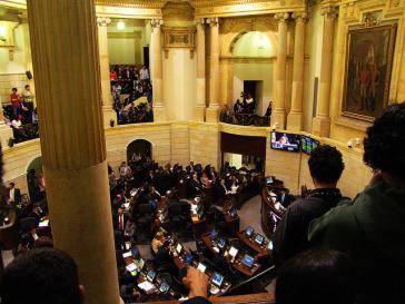 Senat in Kolumbien: Hier wurde das Friedensabkommen mit den Farc kaum durchgesetzt