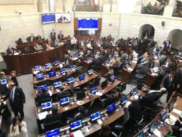 Debatte im Senat von Kolumbien am Mittwoch über die Reform des politischen Systems