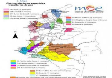 Sonderzonen in Kolumbien sollen die Mitsprache der Opfer garantieren