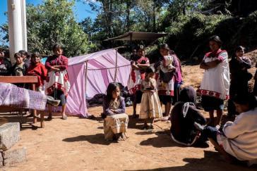 Vertriebene Tzotzil-Indigene aus Chenalhó und Chalchihuitlán, Chiapas