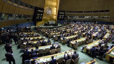 128 Ländern stimmten dagegen, dass die USA Jerusalem als israelische Haupstadt anerkennen. Honduras und Guatemala stimmten dafür