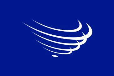 Die Fahne der Unasur