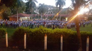 Besetzung der Universität in Honduras