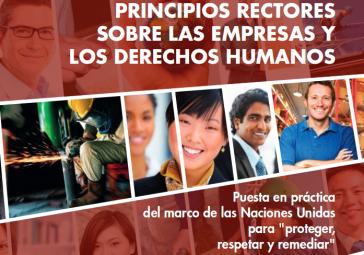 """Der UN-Menschenrechtsrat gab im Juni 2011 die """"Richtlinien der Vereinten Nationen zu Unternehmen und Menschenrechten"""" heraus"""
