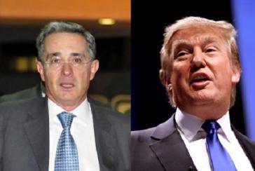 """Uribe will auf """"eine Verbindung zwischen der aktuellen Situation in Kolumbien und Maduro in Venezuela"""" hinweisen"""