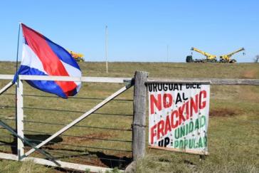 Protest gegen Fracking in Uruguay