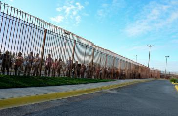 Grenze zwischen den USA und Mexiko. Mit dem Ende des CAM-Programms wird sie wieder ein Stück undurchlässiger